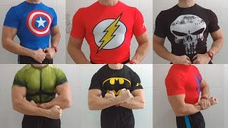 My Under Armour Alter Ego collection | Gym t-shirt compression