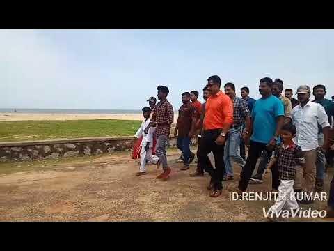 Bhuvanandren ips international  Red dragan karate. Telefilm  shoting  location  karakonam sp Renjith