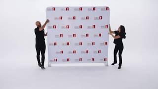 8ft x 8ft Double-Sided Fabric Stretch Display