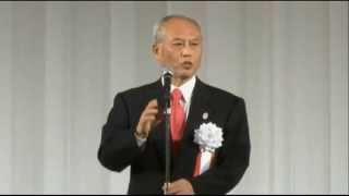 舛添都知事が創価学会の池田大作名誉会長を語る