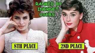 Most Gorgeous Beautiful Women in Hollywood All Time Ranked by Internet Users | AllinAll