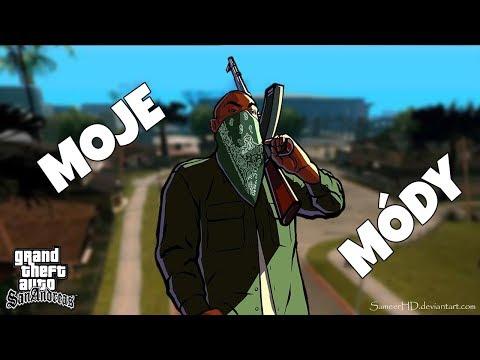 MOJE MÓDY V GTA SA:MP!