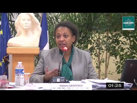 Conseil Municipal Ville de Vaulx-en-Velin jeudi 20 décembre 2018
