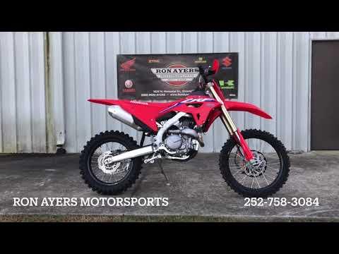 2021 Honda CRF450RX in Greenville, North Carolina - Video 1