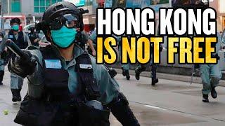 US Says Hong Kong Is Not Free thumbnail
