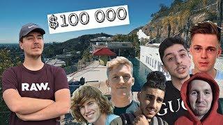 MrBeast $100,000 *LAST TO LEAVE* Youtuber Challenge BEHIND THE SCENES