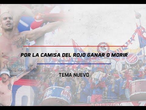"""""""Por la camisa del rojo ganar o morir"""" Barra: Rexixtenxia Norte • Club: Independiente Medellín • País: Colombia"""