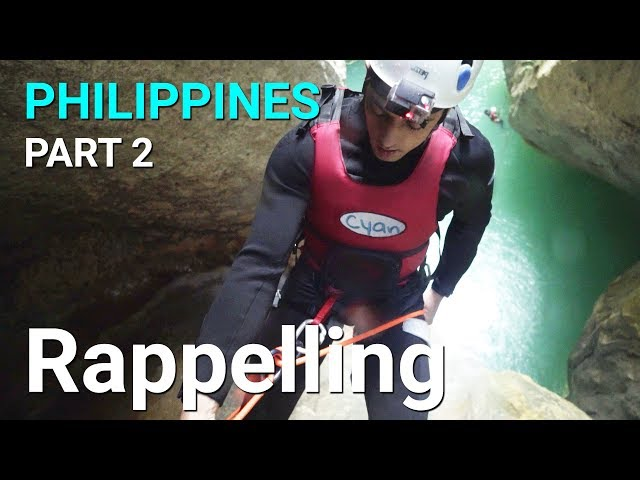Rappelling Adventure Tour - Philippines, Cebu - Part 2