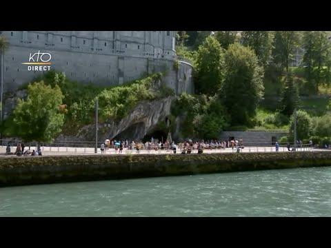 Chapelet du 21 juillet 2020 à Lourdes