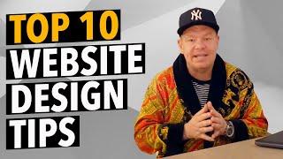 Top 10 Most Important Website Design Tips
