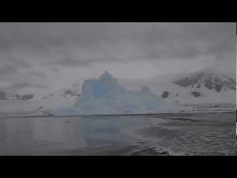Amazing Exploding Iceberg!