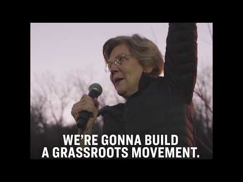 Video thumbnail for Elizabeth Warren previews her announcement in Lawrence, MA