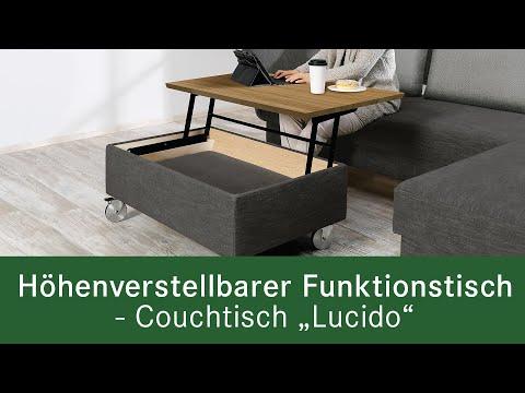 """Funktionsvideo: Couchtisch """"Lucido"""""""