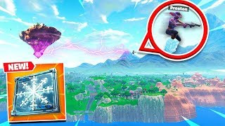 FORTNITE *NEW* FREEZE TRAP GAMEPLAY! HOW TO TRAVEL THE ENTIRE MAP in SECONDS!