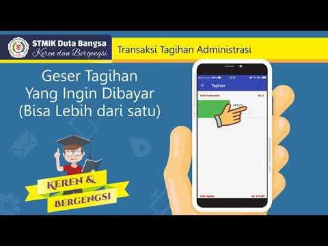 MOBILE PAYMENT STMIK DUTA BANGSA SURAKARTA - BTN SYARIAH SOLO
