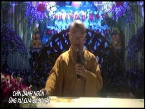 Chín danh ngôn ứng xử của đức Phật (29/09/2012)