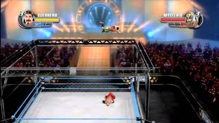 All Stars: Eddie Guerrero vs Rey Mysterio - INTENSE CAGE MATCH