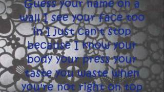 Here I sit - All American Rejects + Lyrics on Screen!
