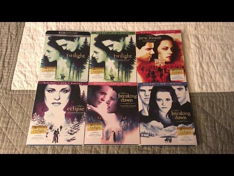 The Twilight Saga 10th Anniversary 4K/Blu-Ray Unboxing