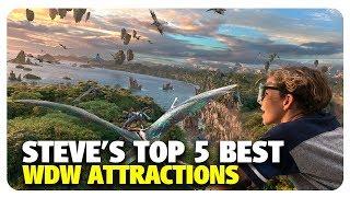 Steve's TOP 5 BEST Walt Disney World Attractions | Best and Worst | 05/12/19
