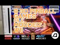 3d Pinball Games On A Modded Wii Using Multiple Emulato