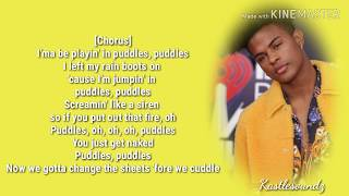 Trevor Jackson   Puddles (Lyrics)