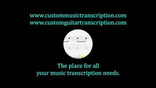 Miss Plaza Suite | Streetheart | Custom Guitar Transcription | Custom Music Transcription