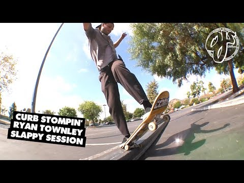 CURB Stompin' - Ryan Townley Slappy Session | OJ Wheels