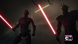 Darth Maul & Savage Opress VS Obi Wan & Adi Gallia