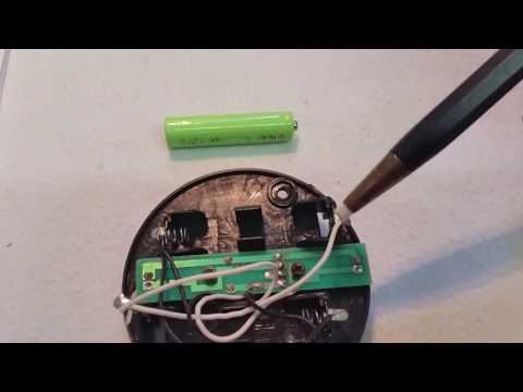 Solarlampe, Funktionsweise erklärt. Reparatur defekter Solarleuchten