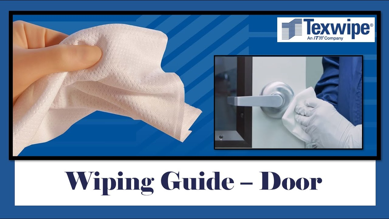 Cleanroom Wiping Guide - Door