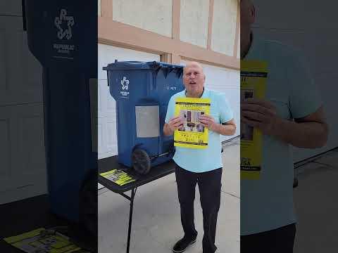 Roll Out Cart / Trash Bin Repair Video