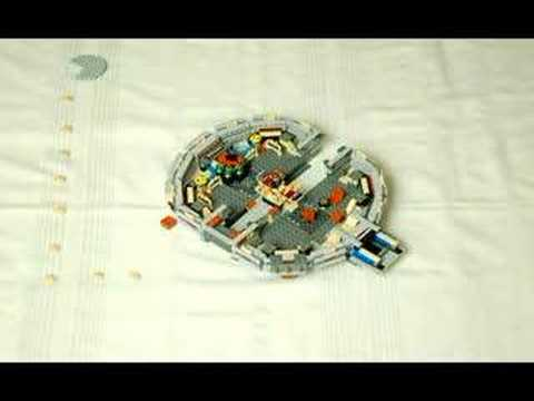 Stop Action Lego Millenium Falcon Build Proves Why The Internet Is Awesome