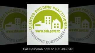 preview picture of video 'Licensed Building Practicioner CJ Duff Construction Khandallah Wellington phone 04 4793444 video'