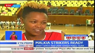 Kenya prisons star Immaculate Chemutai joins volleyball team Malkia Strikers in preps for games