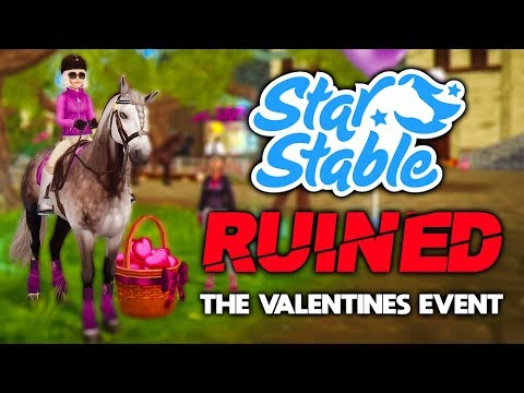 STAR STABLE RUINED THE VALENTINE'S DAY EVENT..