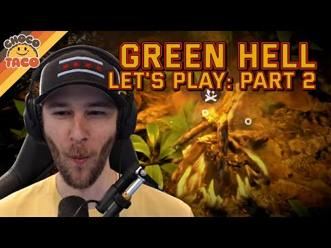 LET'S PLAY: Green Hell Part 2 - chocoTaco and Reid Green Hell Gameplay