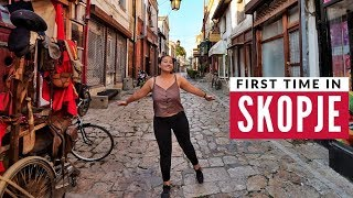 Europes Most Unusual City | First Time In Skopje & Macedonian Food | Full Time Travel Vlog 25