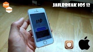iPhone SE Jailbreak iOS 12 with iPhone X Gestures