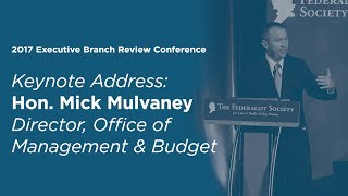 Click to play: Keynote Address by Mick Mulvaney - Event Audio/Video