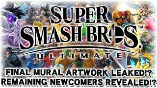 Full Roster Leaked by Smash Mural!? - Super Smash Bros. Ultimate Leak Analysis!