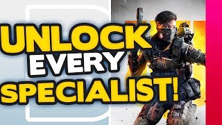 How to unlock ALL Specialist Characters in Black Ops 4 Blackout