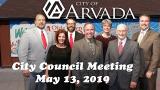 Preview image of City Council Meeting May 13, 2019