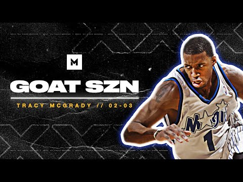 Never Forget Tracy McGrady's BEST Season! 32ppg In 02-03 | GOAT SZN
