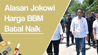 Jokowi Batalkan Kenaikan Harga BBM Premium karena Faktor Konsumsi Masyarakat