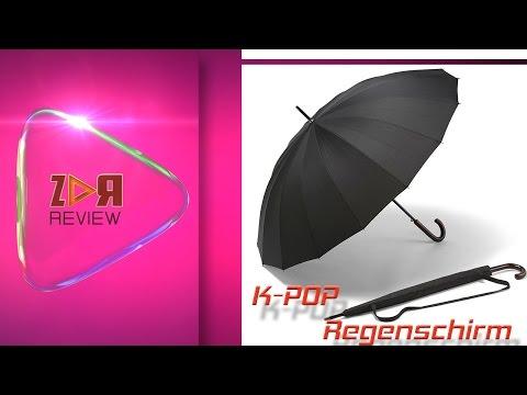 Der Große K-POP | Der starke automatische große schwarze Schirm