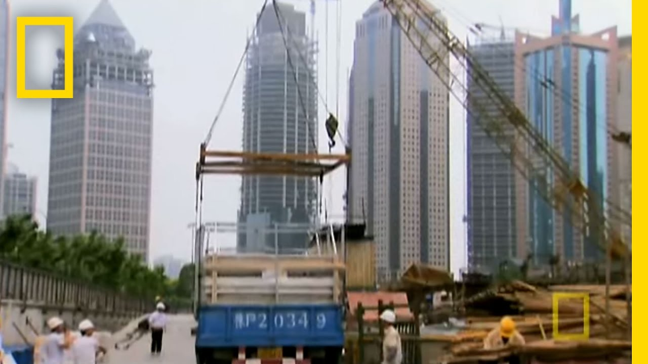 Constructing the Shanghai SuperTower   National Geographic thumbnail