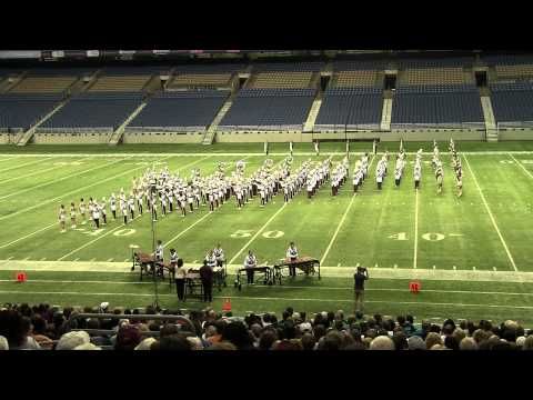 UIL 2A State Marching Contest play
