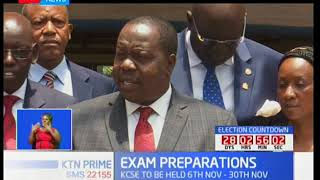 Education Cabinet Secretary Fred Matiang'i remains steadfast in his fight for examinations