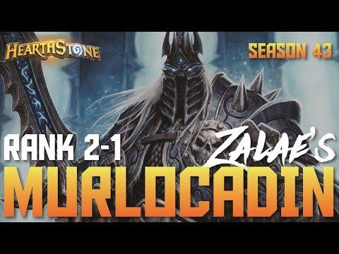 Zalae's Top 10 Legend Murloc Paladin (Rank 2-1, Season 43)